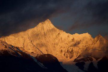 Photo extraite de l'oeuvre Pèlerinage au mont Kailash co-écrit avec O. Föllmi