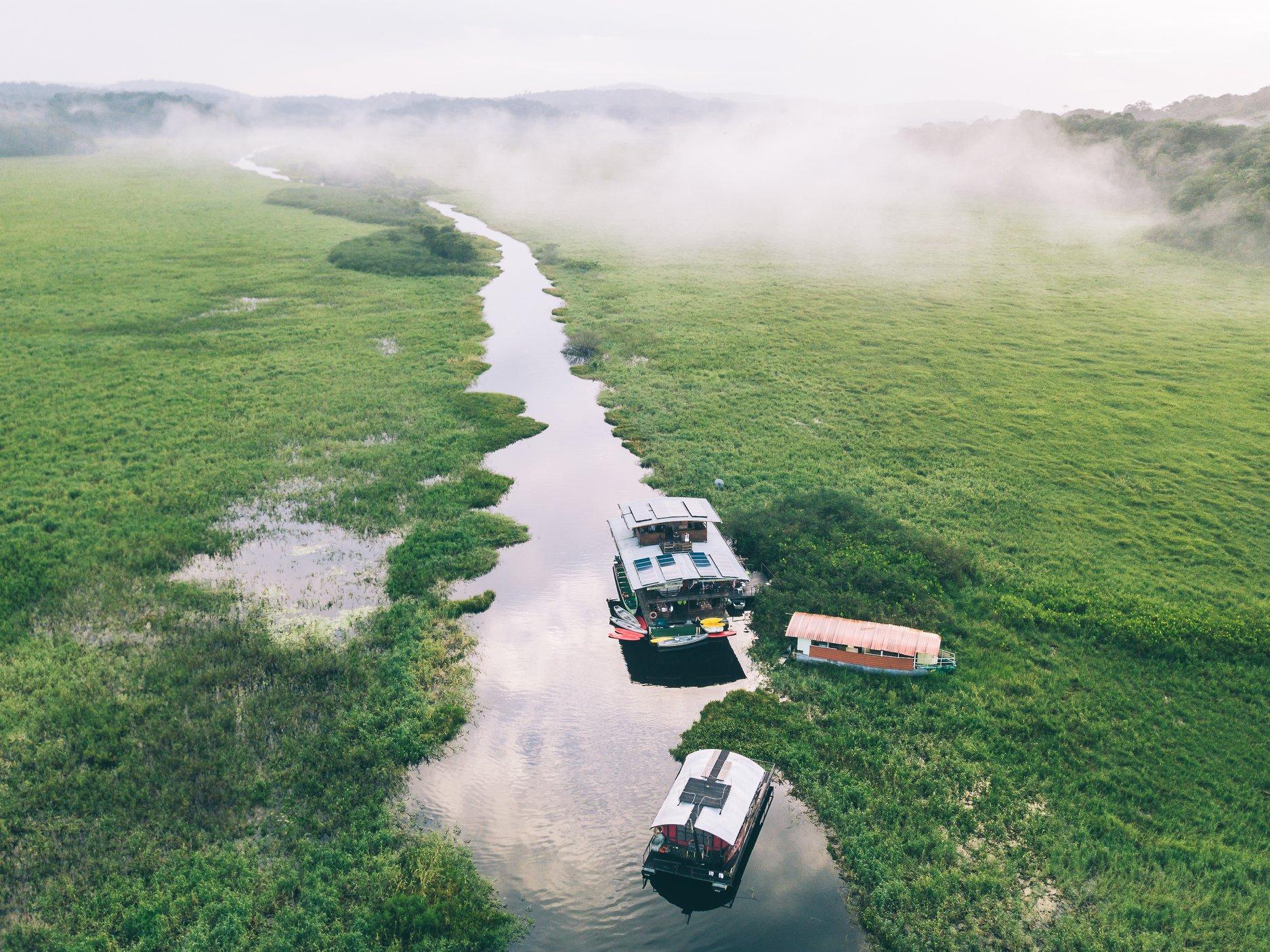 ecolodge flottant