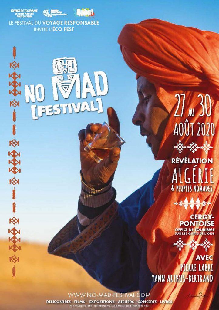 Le photographe Alexandre Sattler signe l'affiche de 6e édition du No Mad Festival